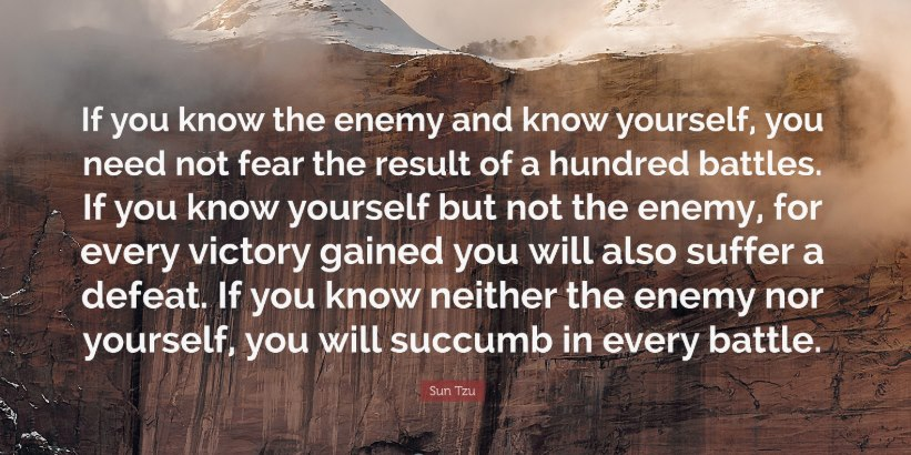A Quote by Sun Tzu
